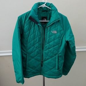 North Face Green Jacket (with Insulation)
